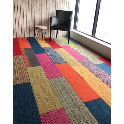 Interface Skinny Planks Shades of Colors Tapijttegels NIEUW